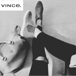 Chic Wool Vince High Top Sneakers